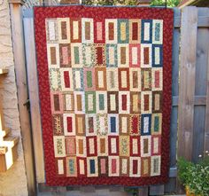 Rectangles Rectangles Lapquilt