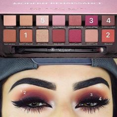 This is why I need this pallet, the red pink hues are gorgeous