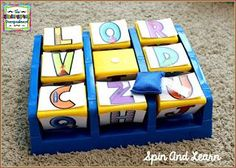 Turn a tic tac toe game into a reusable learning center for kindergarten centers and workstations.