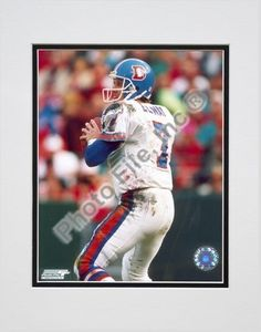 """""""John Elway """"""""Old Uniform"""""""" Double Matted 8"""""""" X 10"""""""" Photograph (Unframed)"""": Enjoy this photograph… #Sport #Football #Rugby #IceHockey"""