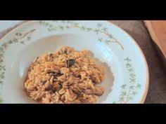 Video wie man ein Original italienisches Steinpilzrisotto (Risotto ai porcini) zu Haus zubereitet. Pilzrisotto vom Feinsten!