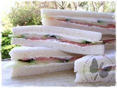 Tramezzini mignon cetriolo e salmone, ricetta finger food