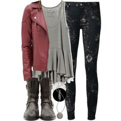 """Malia Inspired Outfit with Requested Jacket"" by veterization on Polyvore"