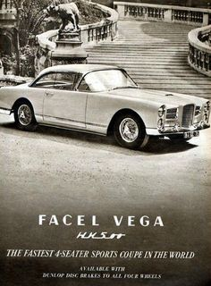 Facel Vega French style with American Chrysler V8 power