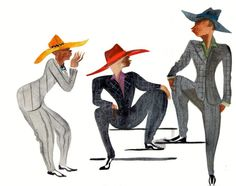 The Jazz-Era Costumes of After Midnight I Vanity Fair