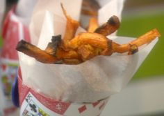 Sweet Potato Oven Fries with Avocado Dip Recipe : Ingrid Hoffmann : Food Network - FoodNetwork.com