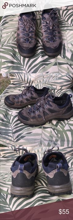 Men's L. L.Bean hiking shoes! Great condition. Slight tear in the heel fabric .gor•tex. waterproof. L.L. Bean Shoes Athletic Shoes