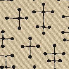 small dot pattern of maharam.  Love Ray and Charles Eames