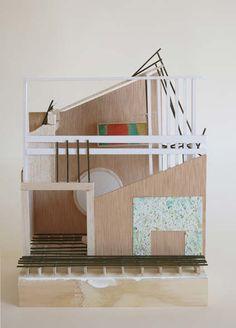 La casa de Wittgenstein diversos materials / various materials 34x26x15cm