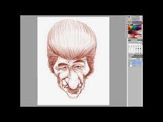 ▶ Ze Bonitinho Caricatura Sketch Part 01 - YouTube