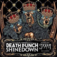 Newark NJ! It's your turn to see #Shinedown #5FDP #SixxAM and #AsLions at The Prudential Center! Who's going to the show?!   Show info: http://ift.tt/2gJR82z