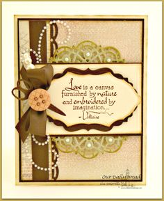 Designs by Lisa Somerville: Love is a Canvas - Bloggers Challenge:Buttons