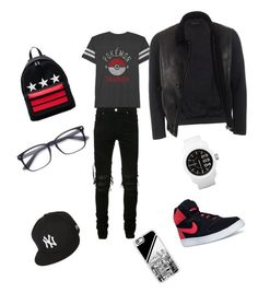 """#boystyle🤘🏻🤘🏻✌🏻️#pokemongo DiiAnNeOOTD❤️😍"" by diianneootd on Polyvore featuring JEM, AMIRI, NIKE, Diesel, Givenchy, Casetify, New Era, Gucci, men's fashion and menswear"