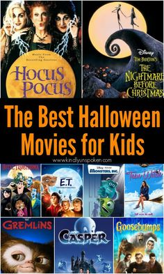 Best Halloween Movies for Kids & Families (Not Scary)