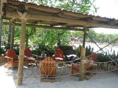 Our day at Typhoon Lagoon is made even more special by our Beachcomber Shack.  It is dreamy to have chairs in the shade, an attendant to bring us lunch and drinks and a common area to chill out and enjoy our day.