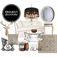 Project Decorate: Sexy Glam via Polyvore