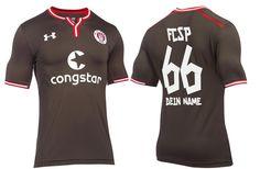 Camisas do FC St Pauli 2016-2017 Under Armour Titular