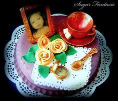 Sugar Fantasie: Antik torta (Antique cake)