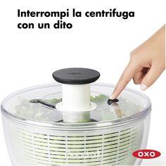 Mega promo sulla centrifuga XL asciuga insalata di OXO 🥗  La centrifuga per insalata che si usa con un semplice pulsante. Il miglior modello in commercio per efficenza e semplicità d'uso. Vieni a scoprirla nel nostro negozio. Cotton Candy, Kitchen Appliances, Home, Diy Kitchen Appliances, Home Appliances
