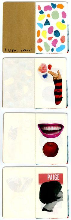 collage sketchbook p