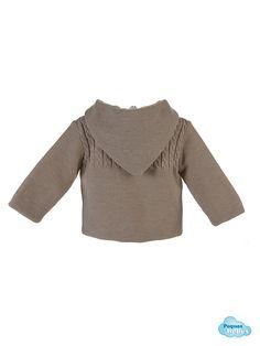 Detalle de la espalda de la chaqueta del san  francisco para bebé http://www.pequesybebes.es/abrigo-san-francisco-buzo-bebe-invierno/478-san-francisco-bebe-chaqueta-polaina-canesu-ochos.html