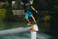 STAND UP STAND OUT Watch #Redbull's Brian Grubb #Wakeskate Hierapolis' Ancient Cleopatra Pool Check it out!  #skate #PN!