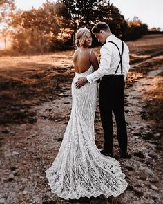 Photo shared by Galia Lahav on August 10, 2020 tagging @meg.l.haynes, @galialahav, @rockmywedding, @tillytrottersbrides, @thevedrinesphoto, @dad.in.training, @gl__gala, and @glbrides. Image may contain: 1 person, standing, child and outdoor Trumpet Style Wedding Dress, Lace Mermaid Wedding Dress, Wedding Gowns, Laid Back Wedding, Chic Wedding, Boho Bride, Wedding Inspiration, Galia Lahav, August 10