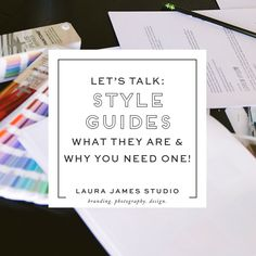 Style Guides brand identity systems, and more. lets talk about what they are and why you need them.
