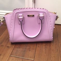 Kate spade purse Very cute fashionable lavender kate spade purse! Never used! It is great for the spring/ summer time! Feel Free To Leave Offers !☺️ kate spade Bags Shoulder Bags