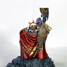 custodes_final9 Legio Custodes, Battlefleet Gothic, Stormcast Eternals, Grey Knights, High Elf, Warhammer Models, Warhammer 40k Miniatures, Color Balance, Step By Step Painting