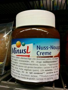 nutella choco lactosevrij minus l Alvo