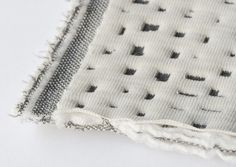 French design duo Ronan & Erwan Bouroullec will introduce their first fabric collection of upholstery textiles knitted from jersey in Milan next month. Textiles, Tactile Texture, Visual Texture, Fabric Manipulation, Fabric Material, Material Design, Beautiful Patterns, Textures Patterns, Surface Design
