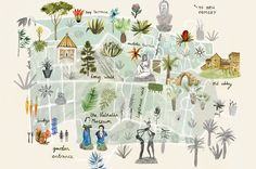 19 Best Illustrated Maps images