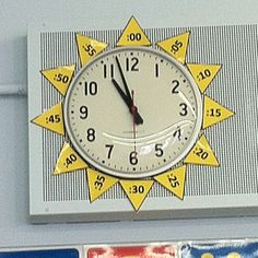 I saw this clever idea to help children tell time.  I am only suppose to teach the hour, but I like to challenge my Kinder Kids. #kindergarten  #tellingtime #clocks #education