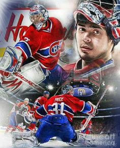 Carey Price Goalie Gear, Goalie Mask, Hockey Goalie, Hockey Teams, Hockey Players, Ice Hockey, Hockey Stuff, Montreal Canadiens, Mtl Canadiens