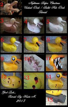 DIY Nightmare Before Christmas Bullet Duck!