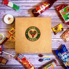 Viva Crate is a monthly subscription that sends yummy Mexican treats! Subscribe to our mailing list! Link in bio.