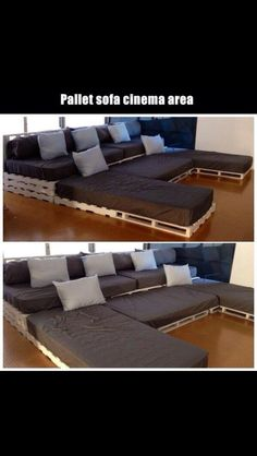 another pallet idea to diy for pinterest pallets movie rooms