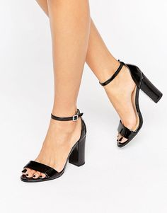 Image 1 ofNew Look Patent Barely There Heel