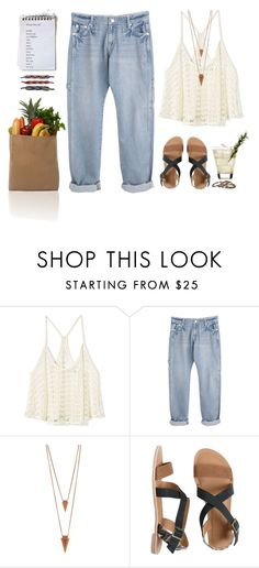 """""""farmers market"""" by tiffany-corbett ❤ liked on Polyvore featuring Victoria's Secret, Jules Smith, IPANEMA, Waxing Poetic and Prada"""