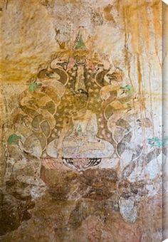 """ 544377986 - Sulamani Temple Frescoes in Bagan, Burma"" by Photo by Supoj Buranaprapapong| newera portfolio"