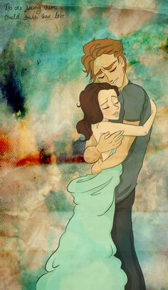 No one that could see them could ever bout their love ~~~ Annie and Finnick