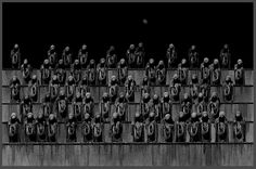 by Misha Gordin / The New Crowd, 1996-1998 To break through stillness of a fear To burn the gates of brutal fate To raise the monument of sorrow To cruelty of human race
