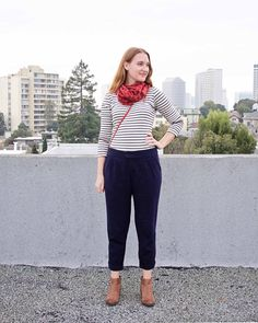 Made By Meg: My New Favorite Pants: The Lazo Trousers