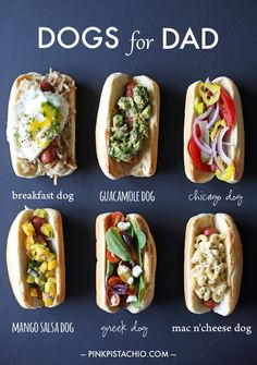 hot-dogs, for father's day or everyday!.