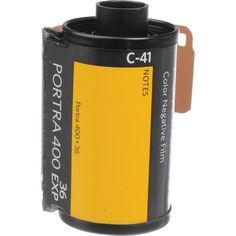 Kodak Professional Portra 400 Color Negative Film 35mm Roll 36 Exposures