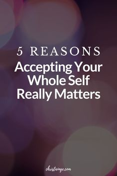A lot of people think that self acceptance is the opposite of personal growth and self development. But, really, self love and self acceptance are the keys to making lasting changes. Learn all of the reasons why self acceptance actually matters. #selflove #selfacceptance #personalgrowth #intentionaliving #selfcompassion #mindfulliving #growth #selfdevelopment #selfcare #loveyourselffirst #happiness #bodymindspirit #wellness #metime #selfhelp #selfcompassion