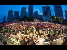 ▶ David Guetta Miami Ultra Music Festival 2015 | another bucket list... omg, I WOULD DIE.