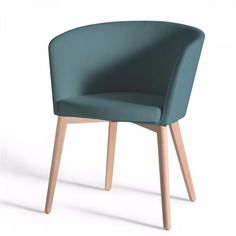 Resultado de imagen para sillas comedor modernas gris Hotel Room Decoration, Dinning Tables And Chairs, Dining Room, Single Sofa, Restaurant Chairs, Upholstered Chairs, Office Interiors, Wood And Metal, Furniture Decor