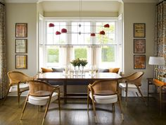 Scandinavian - Dining room - Images by Mendelson Group | Wayfair